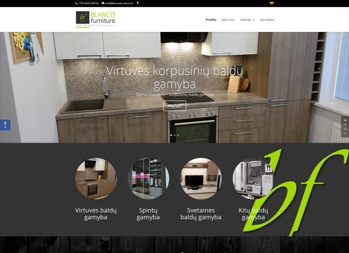 BLANCO furniture – korpusinių baldų gamyba