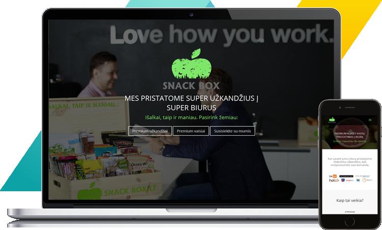SNACKBOX - mes pristatome super užkandžius į super biurus