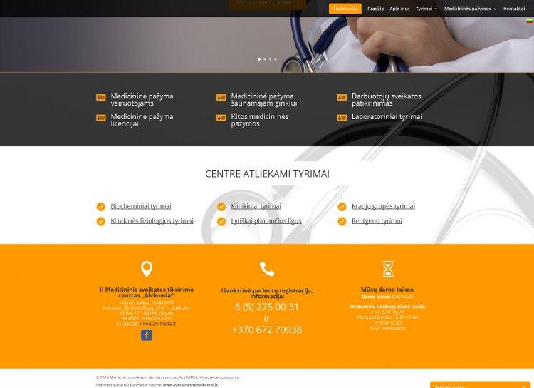 Medicininis sveikatos tikrinimo centras - Alvimeda
